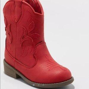 Toddler Girls' Arizona Cowboy Boots - Cat & Jack